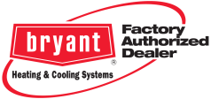 Bryant Factory Authorized Dealer logo Missouri