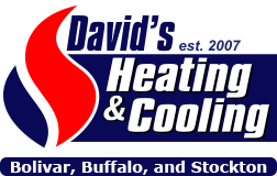 David's Heating & Cooling logo